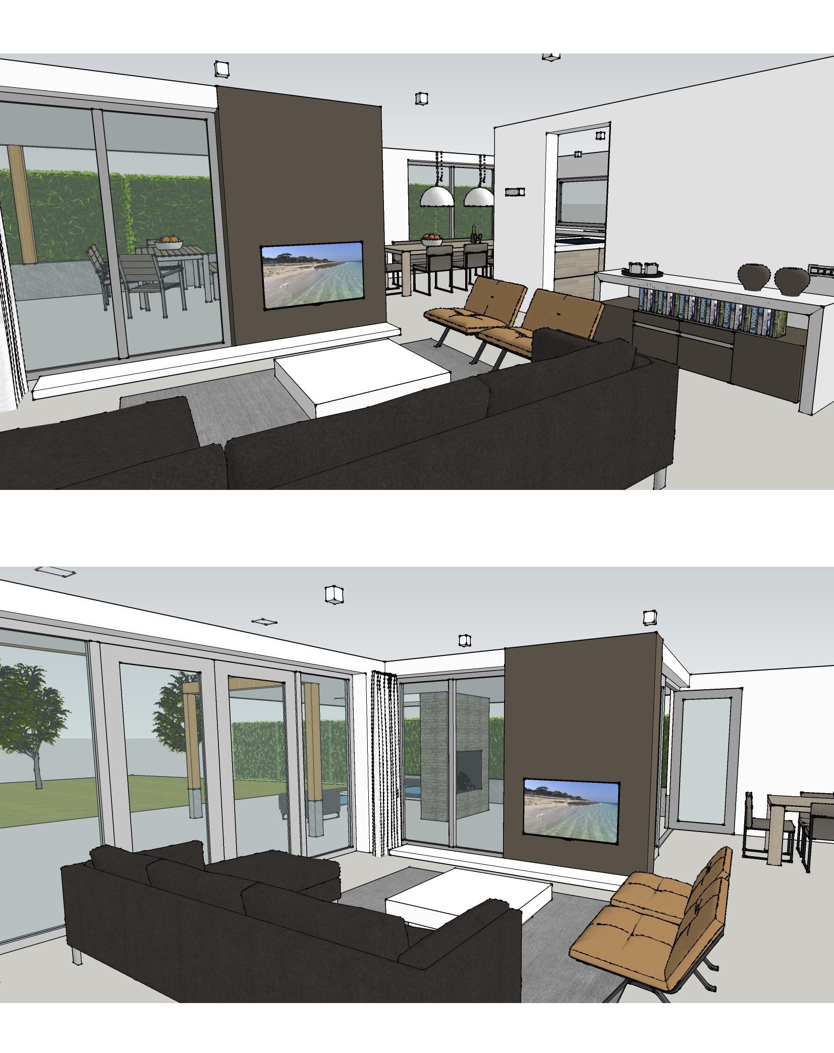 interieur ontwerp vrijstaande nieuwbouw woning puur-bouwen - cinterieur